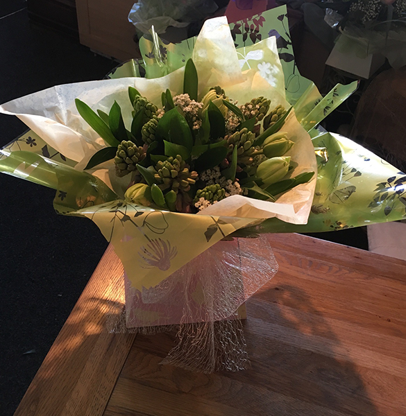 Floral Gift Hyacinth by Miss Daisy Florist Warrington