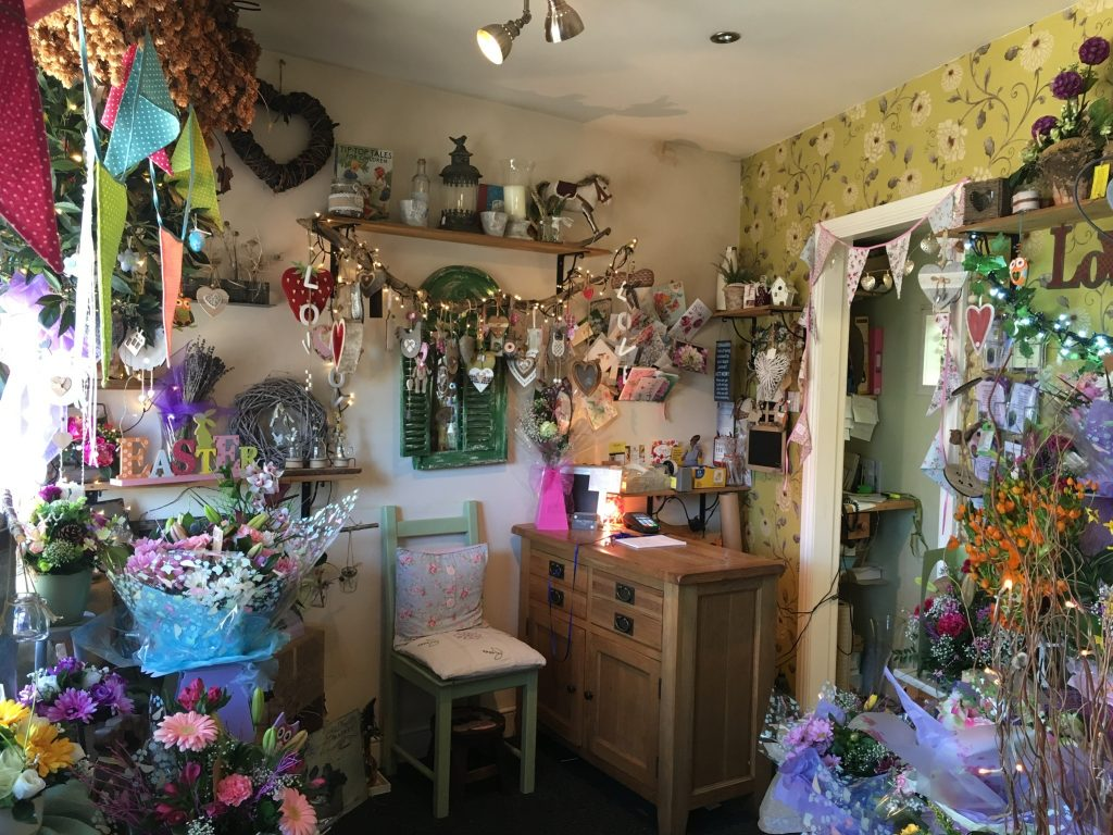 Miss daisy florist florist warrington floral displays inside miss daisys flower shop in warrington izmirmasajfo